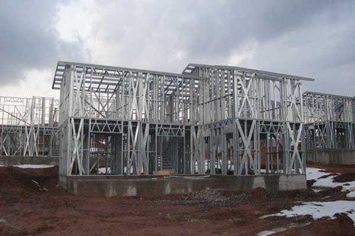 Здания на основе облегчённого металлического каркаса в Мурманске